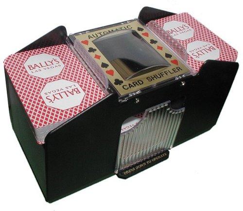 4 deck card shuffler c batteries